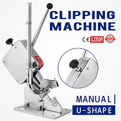 Sausage Clipping Clipper Packing Machine SU-50 U-shape Fruit Sealer Operation