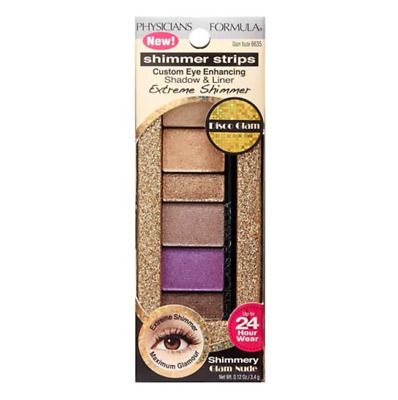Physicians Formula Shimmer Strips Extreme Shimmer Shadow & Liner, 6635 Glam Nude