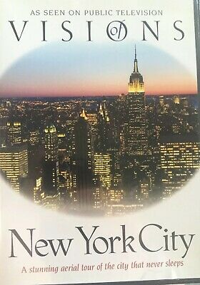 Visions of New York City New DVD! Ships Fast!