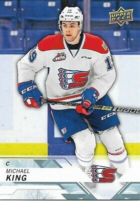 Michael King #206 - 2018-19 CHL - Base - Spokane Chiefs