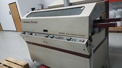"Technical Devices Nu/Era Jr 10"" Wave Solder Machine"