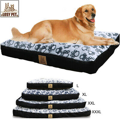 Waterproof Jumbo XXL Pet Bed for Large Dog Orthopedic Mattress w/Removable Cover