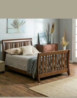 Nursery Smart Darby Full Size Rail color cherry