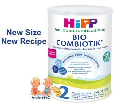 HiPP Dutch Stage 2 Bio Combiotic Follow On Formula 3 Cans 900g Free Shipping