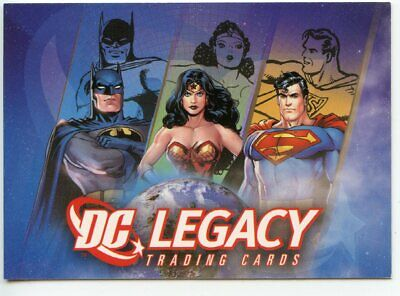 2007 Rittenhouse Archives DC Legacy Complete 50-Card Base Set