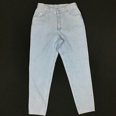 c46d3547 Vintage Lee Womens 12 M High Waisted Relaxed Fit Mom Stone Wash Jeans New  NOS