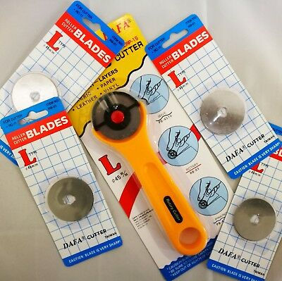 45mm Rotary Cutter with Extra 4 Blades