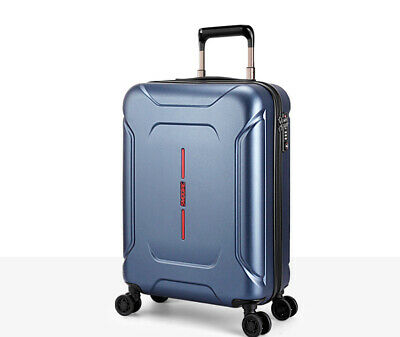 "D67 28"" ABS PC Password Lock Portable Case Trolley Travel Bag Suitcase S"