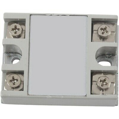 1X(SSR-40AA 40A Single Phase Solid State Relay 80-250V AC / 24-380V AC,whit P1N6