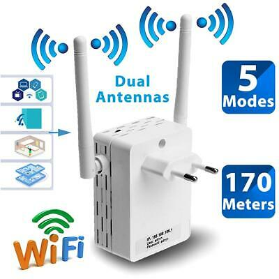 300Mbps Wireless-N Range Extender WiFi Repeater Signal Booster Network Router MZ