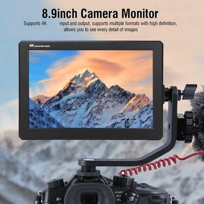 "Lilliput A8S 3G SDI 4K HDMI 8.9"" IPS 1920x1200 On Cameras Field DSLR Monitor MS"