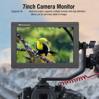 "New Lilliput A7s 7""1920x1200 4K HDMI DSLR Camera field monitor for DSLR US Plug"