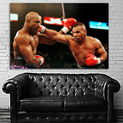 #14 Mike Tyson Holyfield Boxer Boxing Sport 40x60 inch More Sizes Large Poster