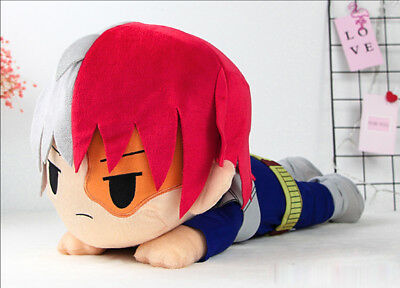 My Hero Academia Boku no hero Todoroki Shouto Plush Doll Anime Toy Gifts US Ship