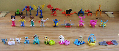Lot de 25 figurines kinder Infinimix