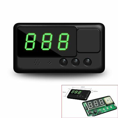Universal Head Up Car GPS Speedometer HUD Overspeed Alarm MPH/KM/h Plug & Play
