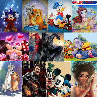 Dreamy Disney Full 5D Diamond Painting Embroidery Cross Craft Arts Mural GIFT