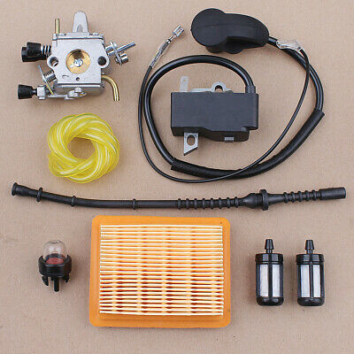 Carburetor for Stihl FS120 FS250 FS200 FS350 FS300 Ignition Coil Air Filter Kit