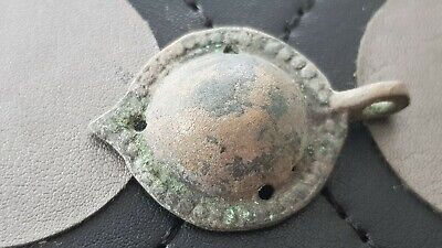 Stunning very rare early Byzantine bronze brooch. Please read description L139u