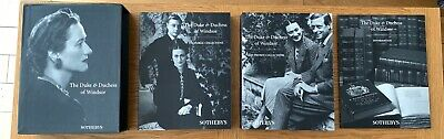 Vintage Sotheby's Duke & Duchess of Windsor Collection Catalogues