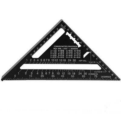 Speed Square Rafter Metric System Protractor Miter Angle Square Triangle Ruler