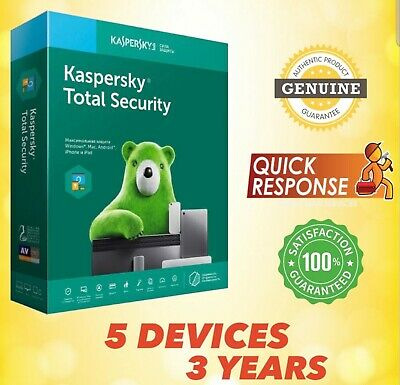 Kaspersky Total Security 2019 Antivirus - 6 Pc | 6 Device | 3 Year