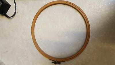 Traditional Wooden Circular Embroidery/ Tapestry Hoop