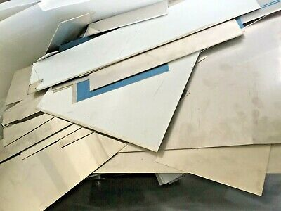 SCRAP SHEET Stainless Steel Plate OFF CUTS PRICE PER KG - CHEAP CLEARANCE METAL