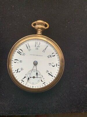 Watches, Parts & Accessories Purposeful Antique Waltham Pocket Watch Gold Filled 15 Jewels Working Order Rare ! Nice !