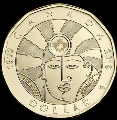 2019 Canada $1 Equality Loonie Coin BU - No Tax