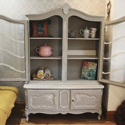 Beautiful Oak Dresser Louis XV French Import (delivery)Annie Sloan - Shabby Chic