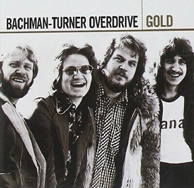 Bachmann Turner Overdrive - Gold - Best Of / Greatest Hits - 2CDs Neu & OVP