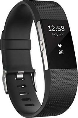 Fitbit Charge 2 Fitness Activity Band Tracker Heart Rate Monitor - Large Size