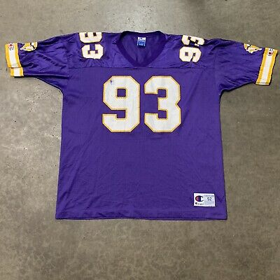 99fc96bc NWT JOHN RANDLE Minnesota Vikings Authentic Puma Away White Jersey ...