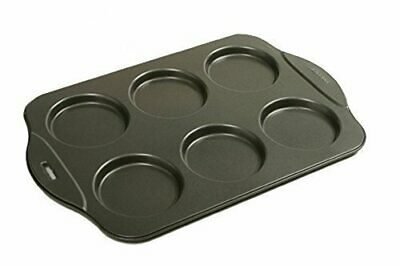 "Norpro Puffy Muffin Top Pan Makes 6 Non Stick High Rise Crown 4"" Wide .5"" Deep"