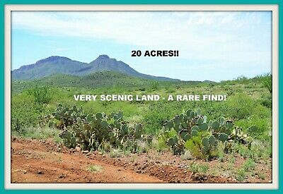 20 Acres~Spectacular Scenic Southern Arizona Land~See Actual Pics~$275 A Month