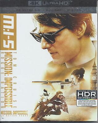 Mission Impossible Rogue Nation (4K Ultra Hd/Bluray)(3 Disc Set)(Used)