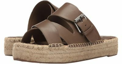 ae43b0ec3a MARC FISHER LTD Venita Platform Espadrille Sandals Brown Womens Sz 7.5 - NEW