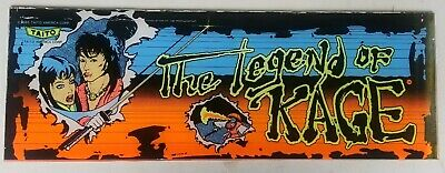 "Vintage ""The Legend of Kage"" Arcade Video Game Marquee by Taito"