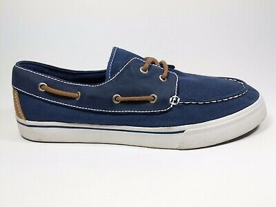 Next Mens Navy Canvas Trainers Uk 8 Eu 42 Hardly worn