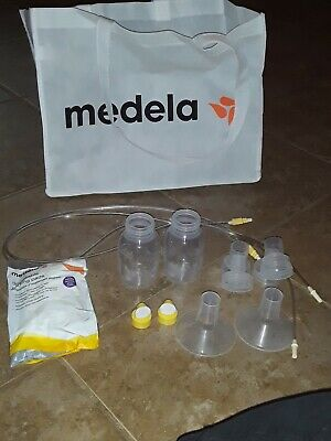 MEDELA 24mm Breast shield accessory lot of 12 pieces!