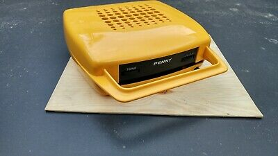 1970s space age Penny portable 7-inch record player