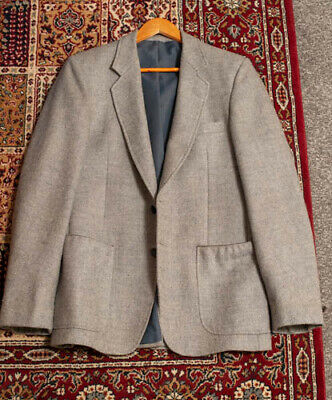 Hardy Amies at Hepworth's vintage tweed wool blazer