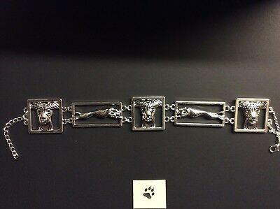 Greyhound Whippet Lurcher Dog Bracelet