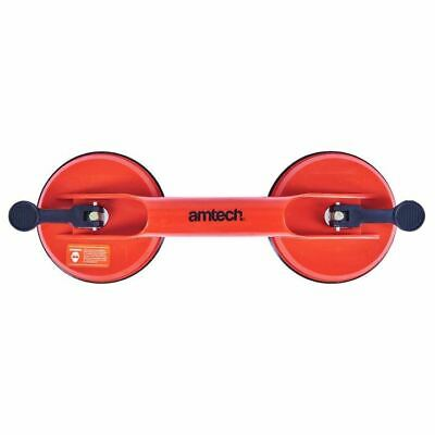 Amtech Heavy Duty Dual Suction Cup/Lift Smooth Surface Glass Lift Window/Glazing