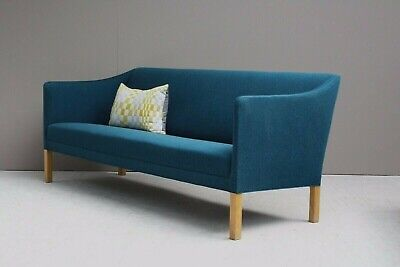 ORIGINAL VINTAGE MIDCENTURY Danish Grete Jalk 1950s Three Seater Sofa