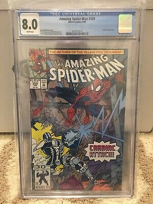The Amazing Spider-Man 359 !! CGC 8.0 !! (Feb 1992, Marvel)
