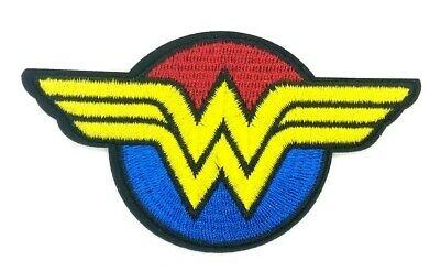 WONDER WOMAN IRON ON PATCH Comic Book Superhero Embroidered Applique US SHIP 151