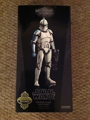 Sideshow Collectibles Militaries of Star Wars Republic Clone Lieutenant