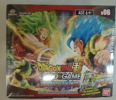 Dragonball Super CCG Destroyer Kings B06 sealed. New.